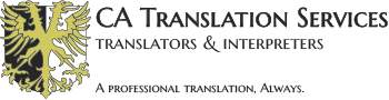 CA Translation Services